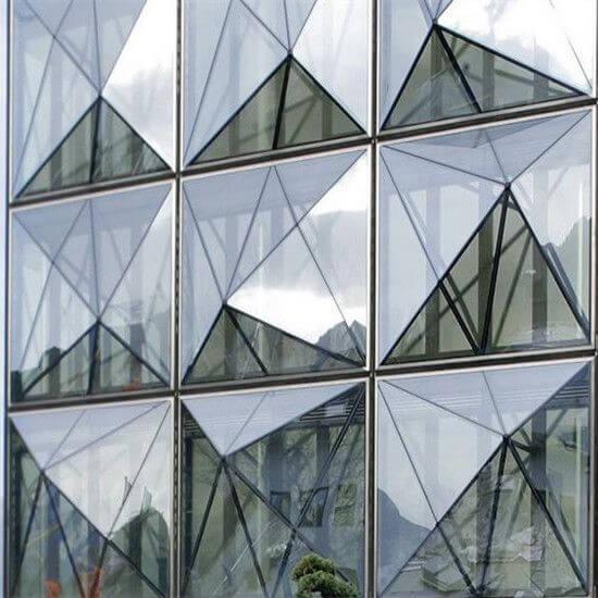Vidrio reflectante
