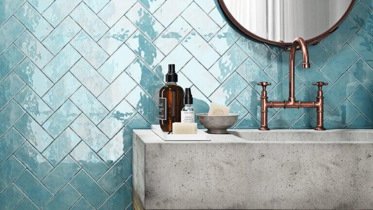 Tipos de azulejos almohadillados para el hogar