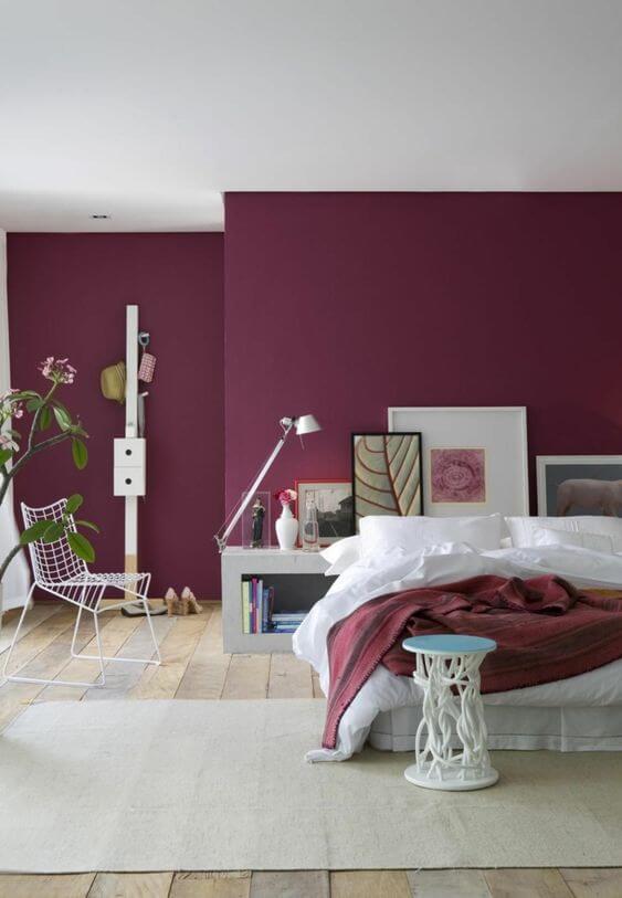 Pintar una pared del dormitorio