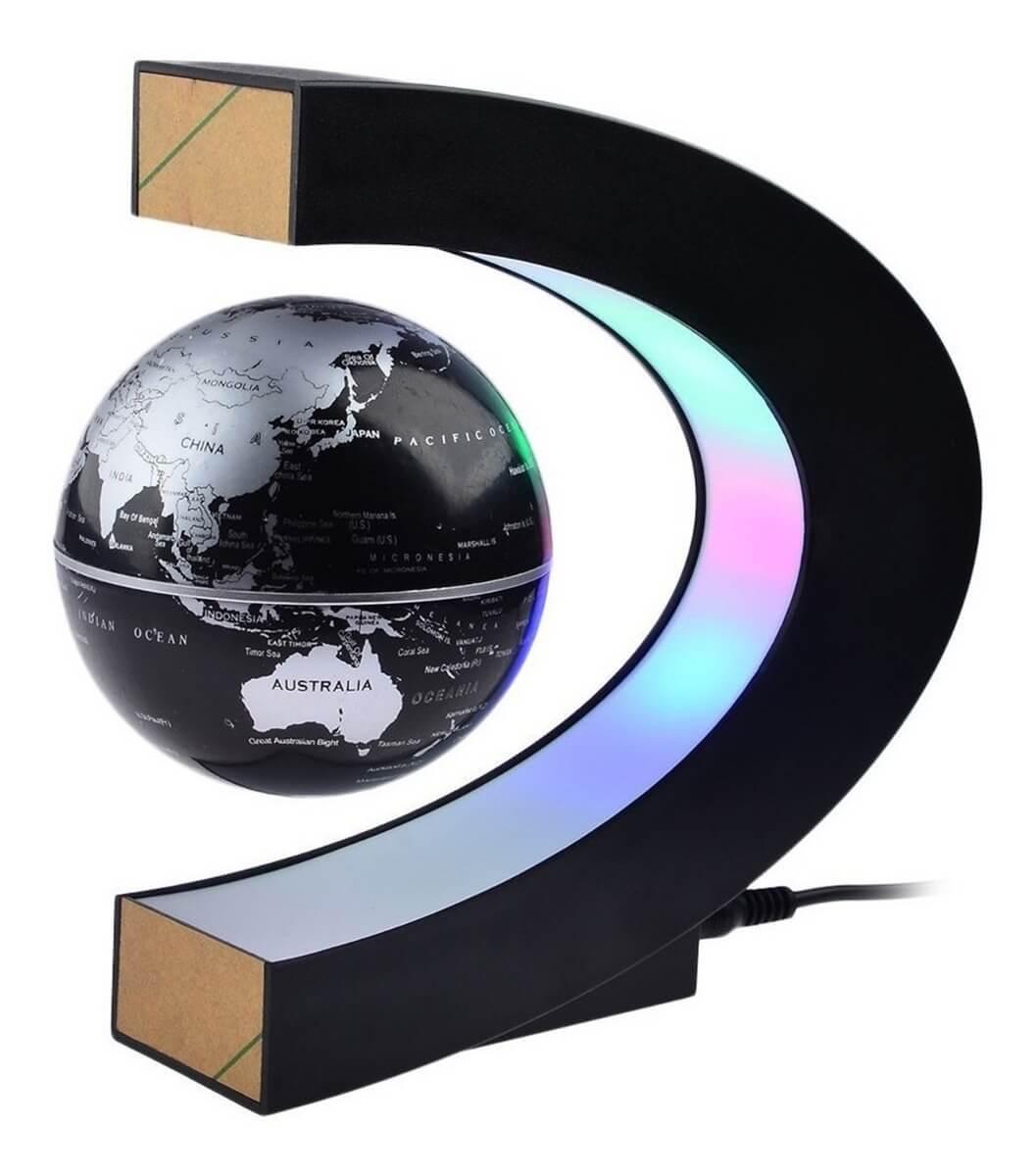 Bola del mundo en la decoración