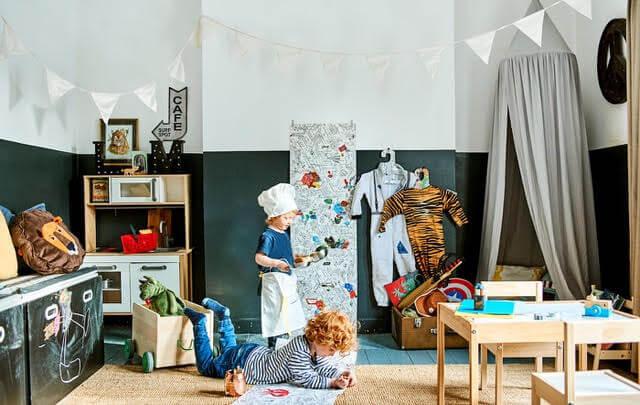 Los niños en casa: ideas desde IKEA para hacerles llevadera la cuarentena
