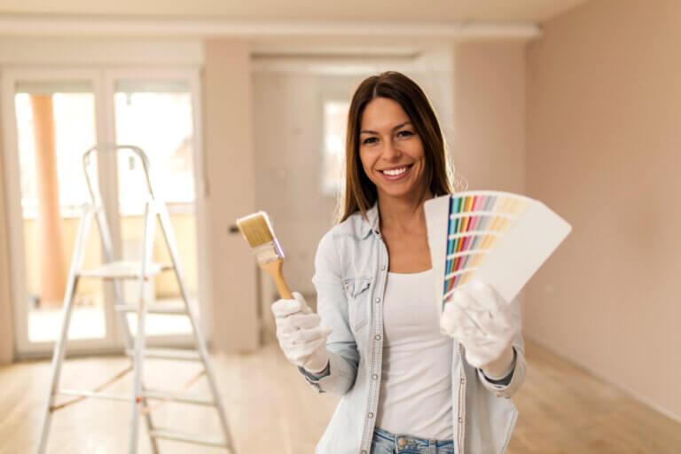 Pintura decorativa para renovar tus paredes