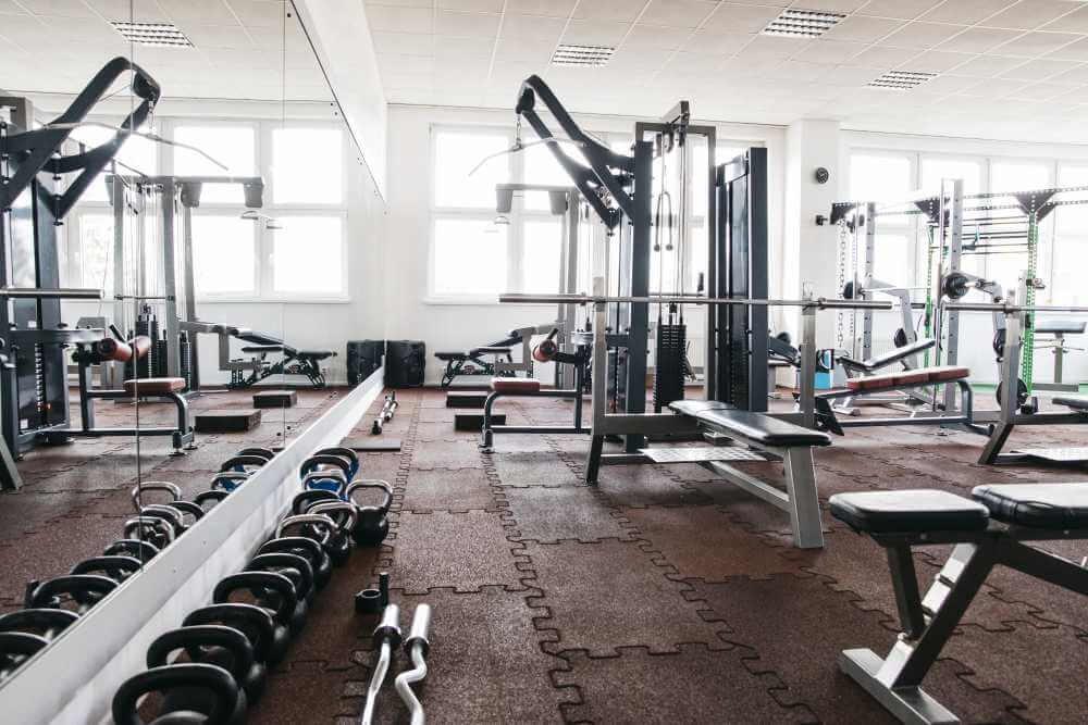 Decoración de un gimnasio