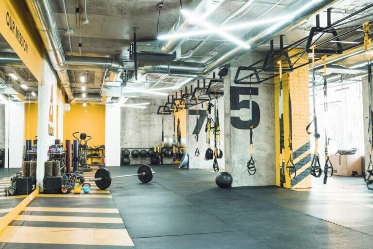Principales recursos para decorar un gimnasio