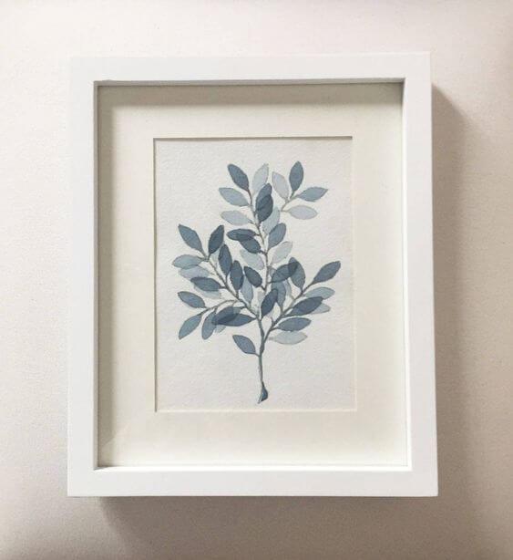 Accesorios deco: ilustraciones botánicas
