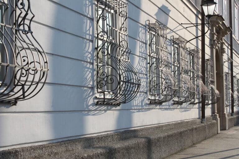 Tipos de rejas para las ventanas