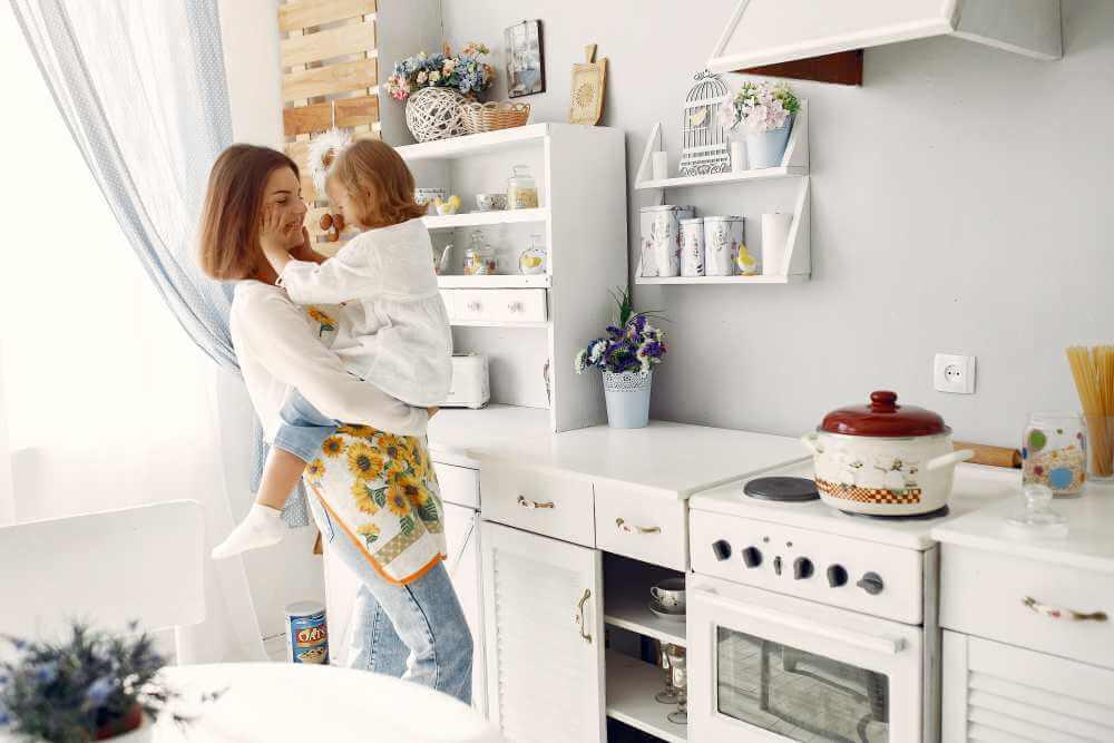 Una cocina a prueba de niños