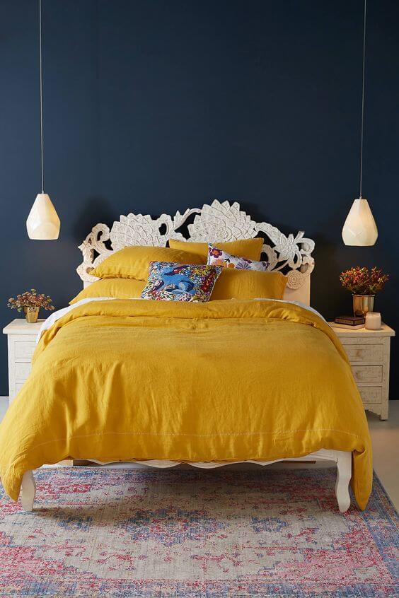 Paletas cromáticas para el dormitorio