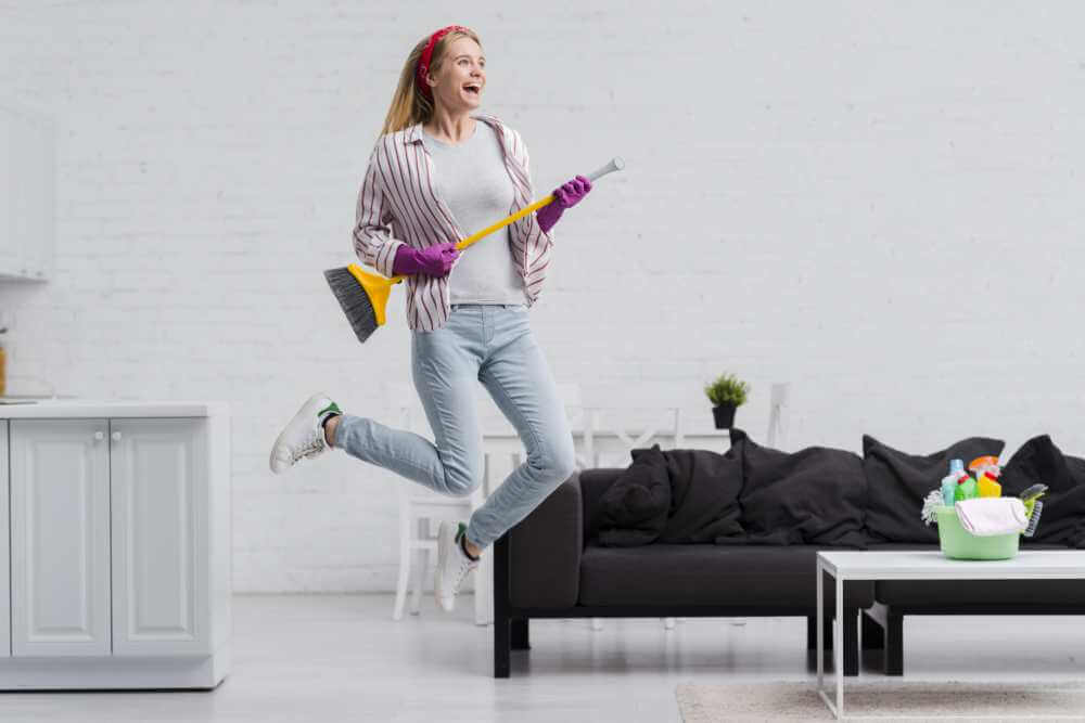 Limpieza exprés: tu casa a punto en una hora