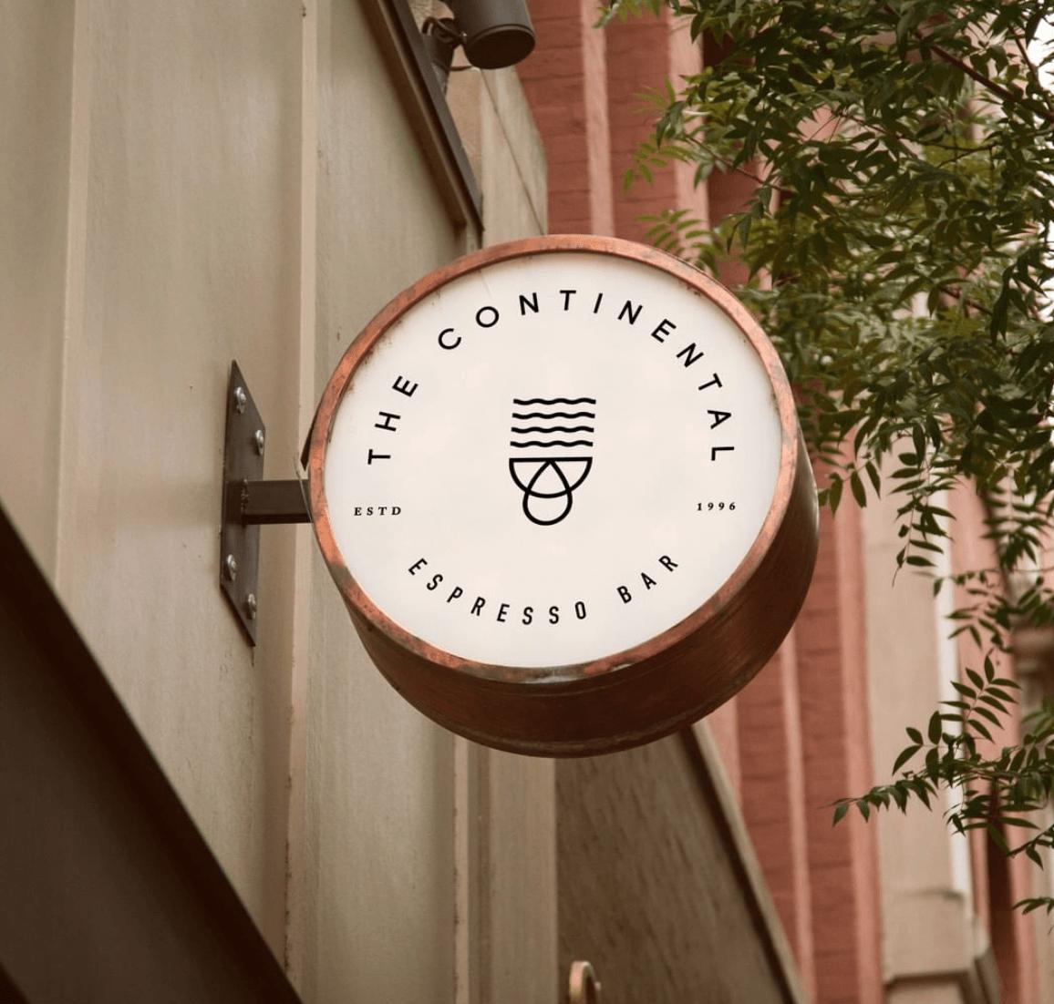 El logotipo y el negocio