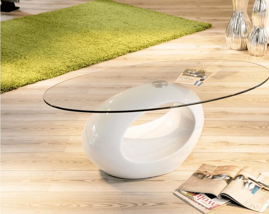 Mesas centrales de estilo minimalista