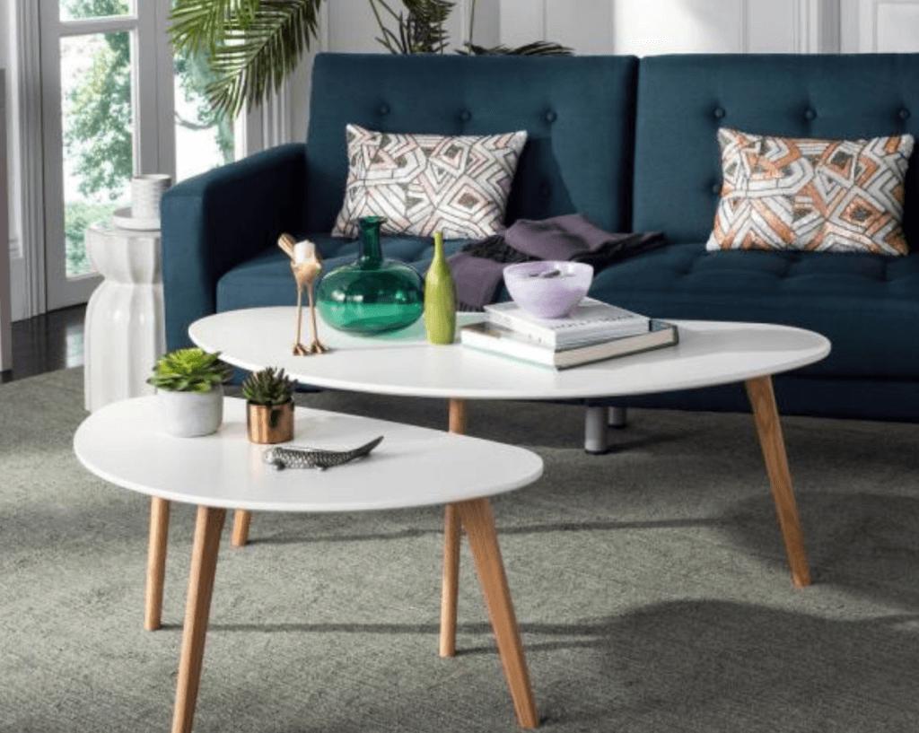 Mesas centrales de estilo minimalista: depuración formal