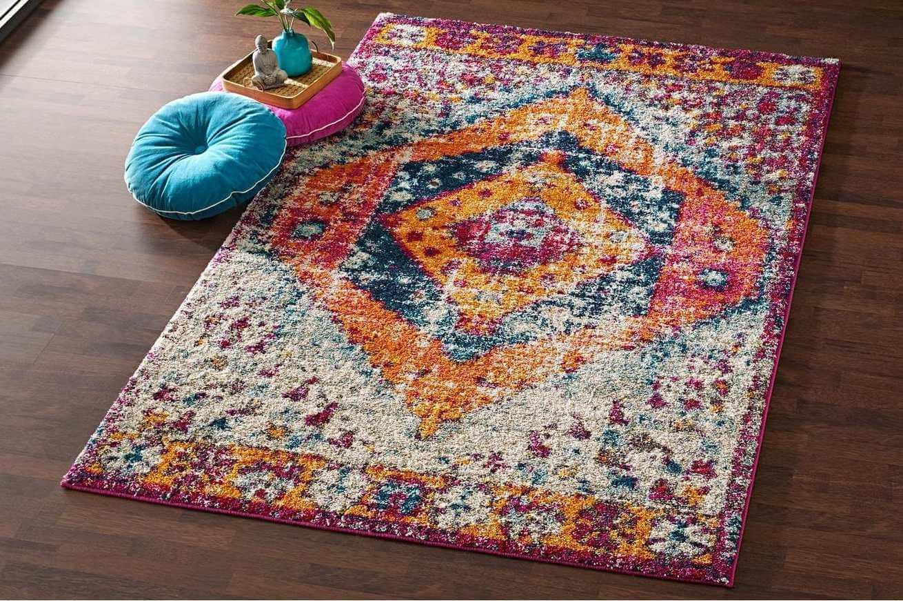 Decorar con una alfombra