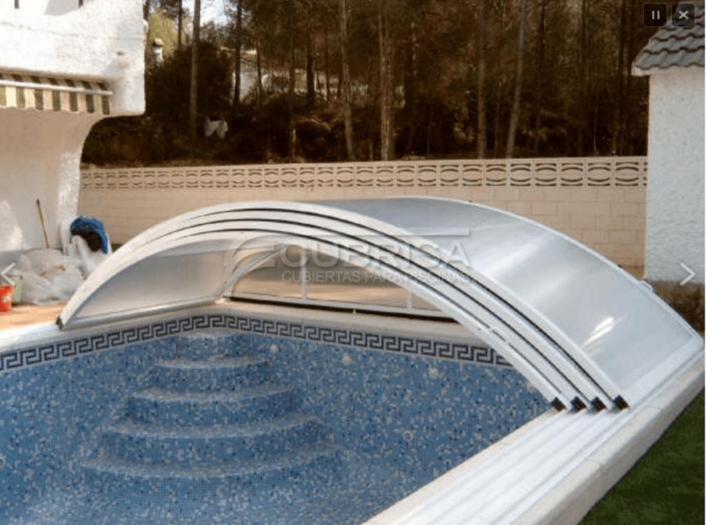 Tipos de cubiertas para la piscina