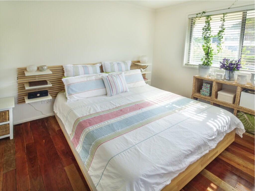 Los mejores trucos para dormitorios pequeños