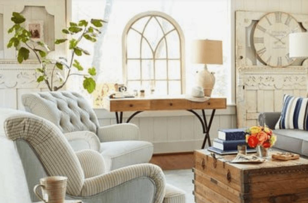 El color marfil en las paredes del hogar