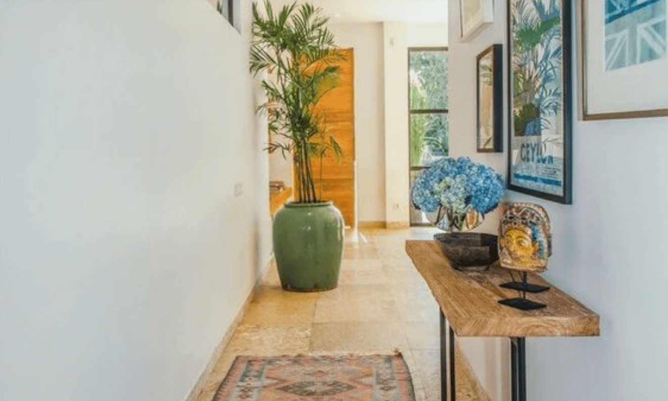 Ideas geniales para decorar un pasillo