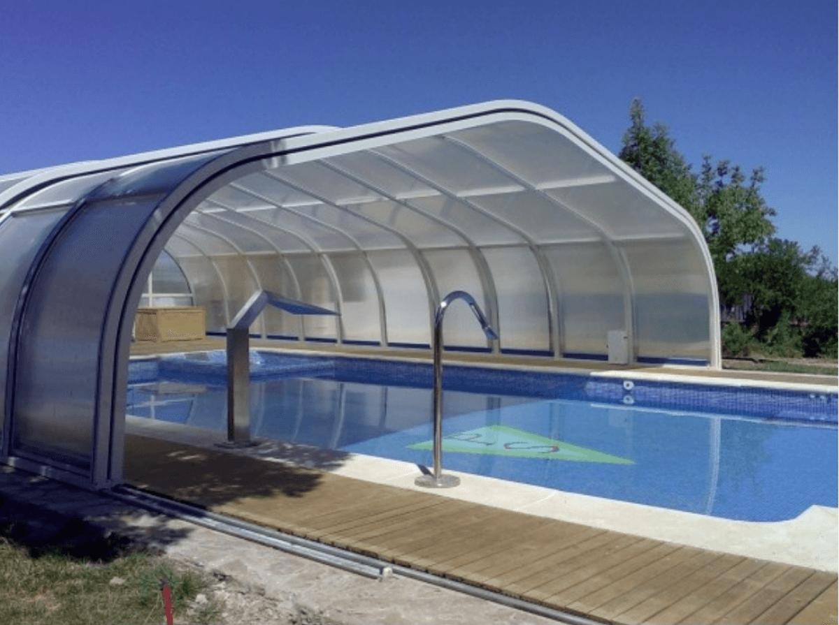 Cubiertas para la piscina