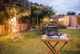 Ideas para organizar una reunión familiar en el jardín