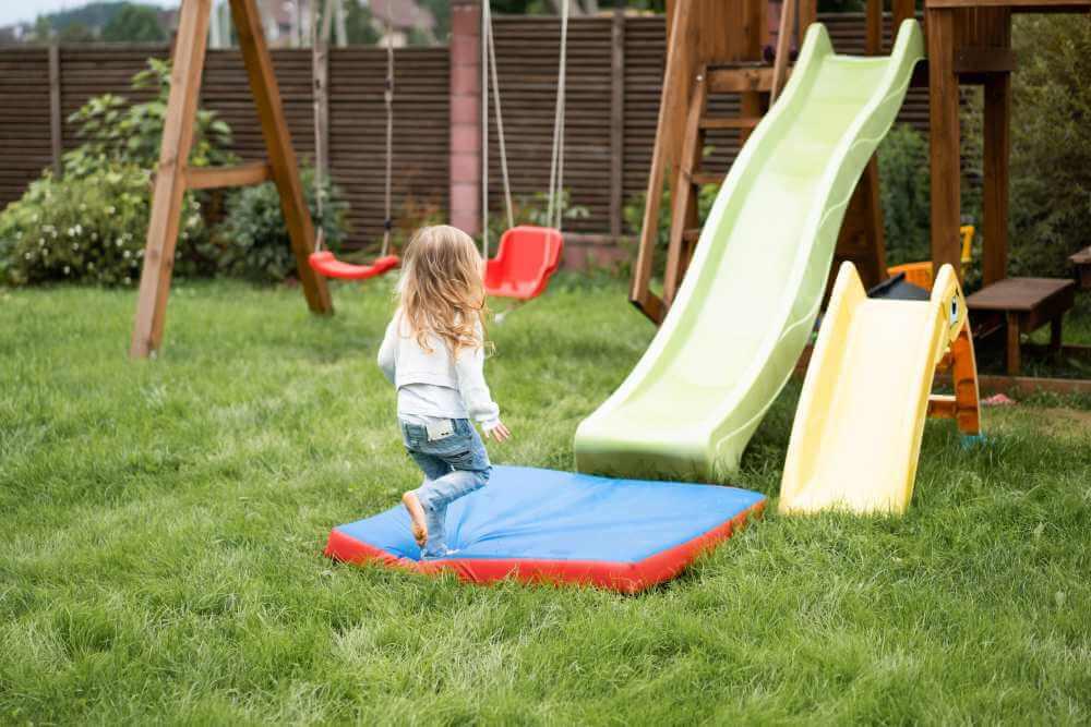 Diseña una zona de juegos en tu jardín