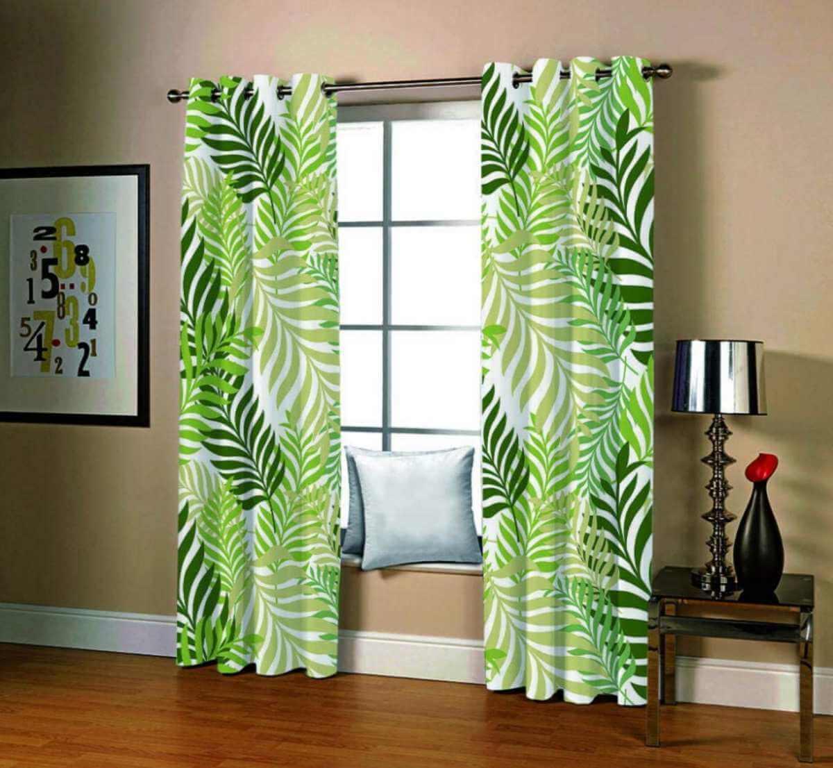 Estampados para las cortinas del hogar
