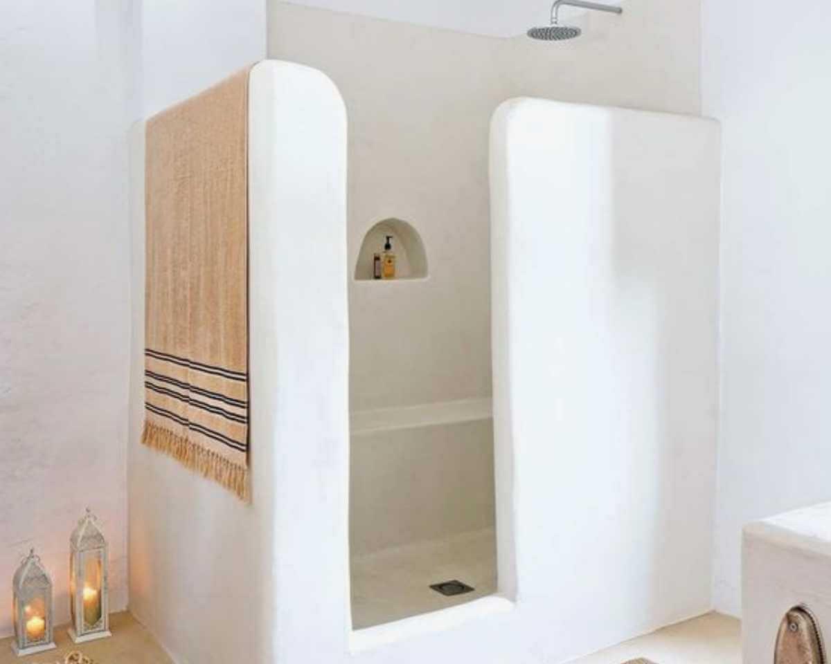 La ducha perfecta: de obra
