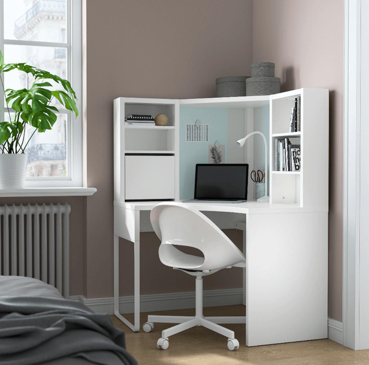 Huecos difíciles: mueble esquinero