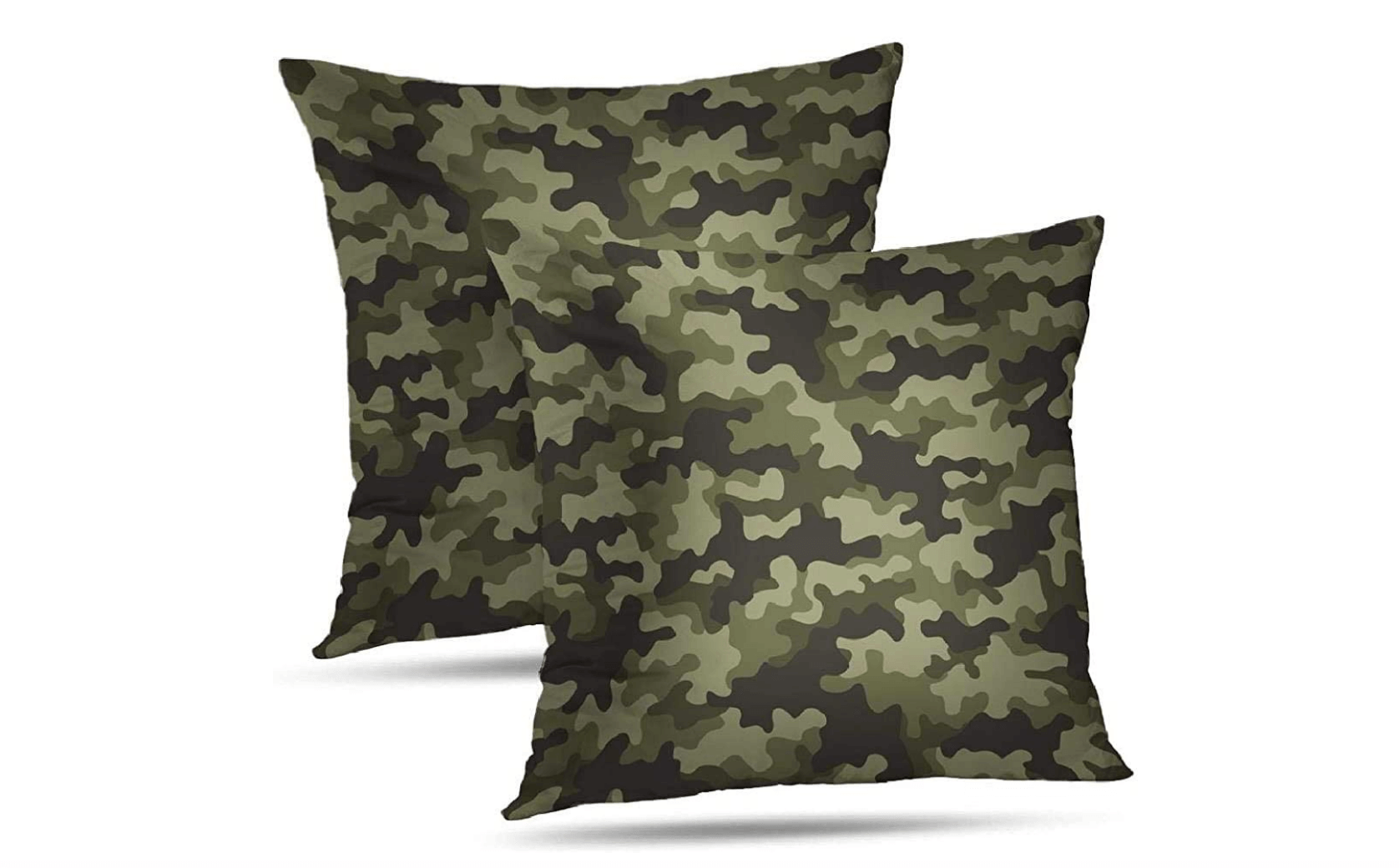 Estampado militar en la decoración