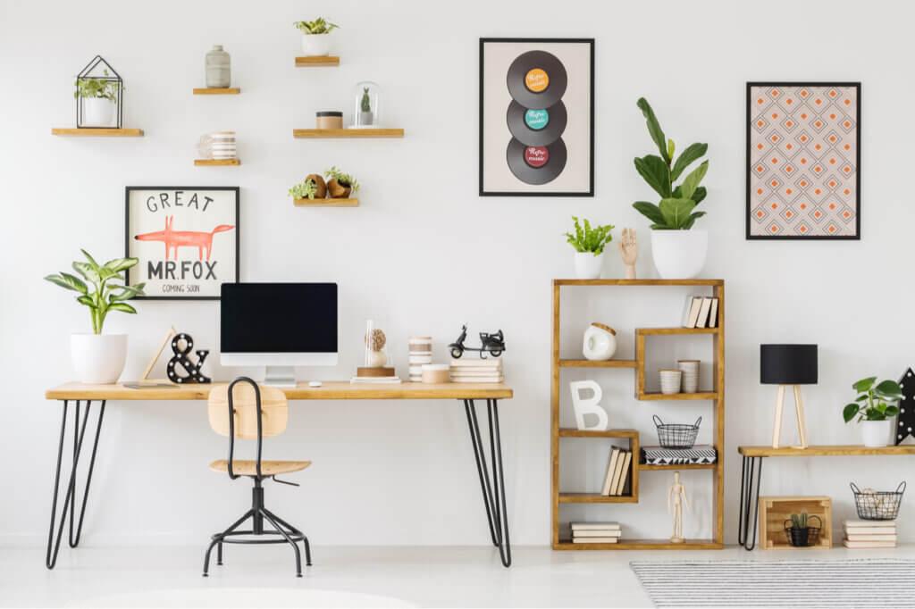 Estanterías de madera: diseños y formatos