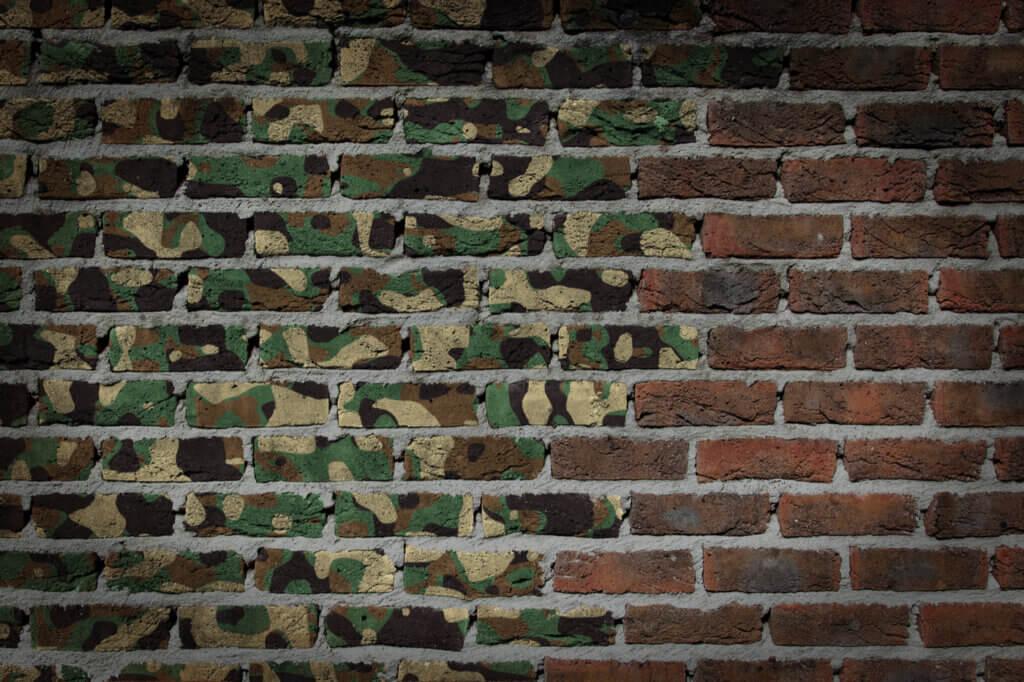 El estampado militar para la decoración del hogar