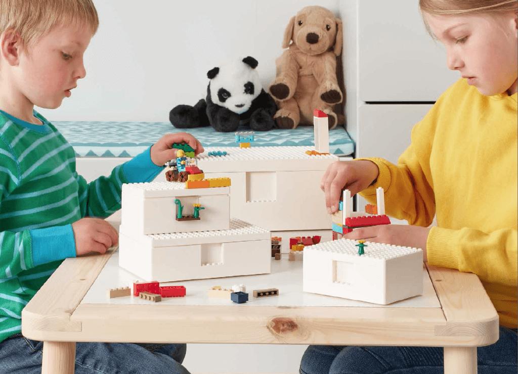 IKEA y LEGO Group presentan BYGGLEK, una solución creativa de almacenaje