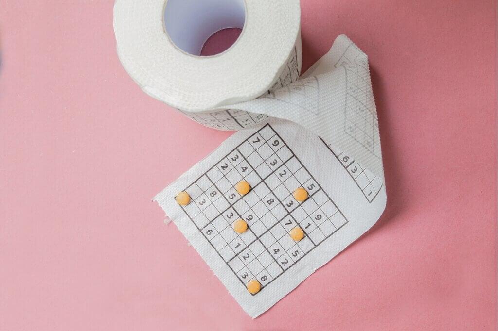 Papel higiénico con estampados: un toque original para el baño