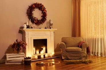 Ideas para decorar tu chimenea