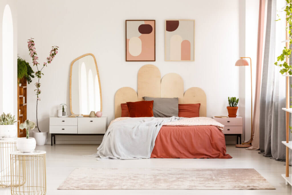 Ideas para decorar un dormitorio moderno