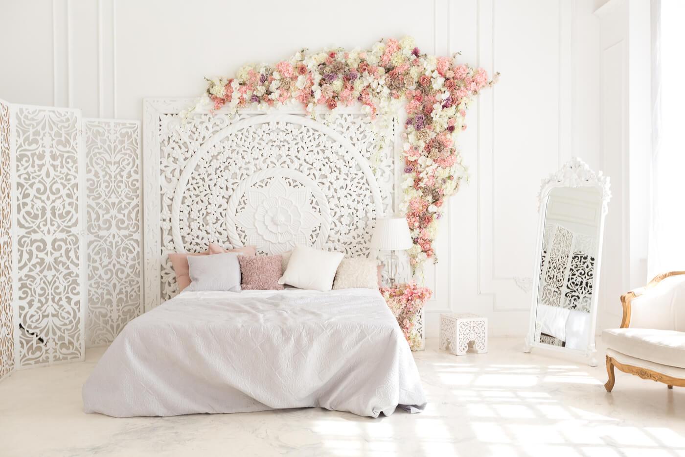 estilo transicional en el dormitorio