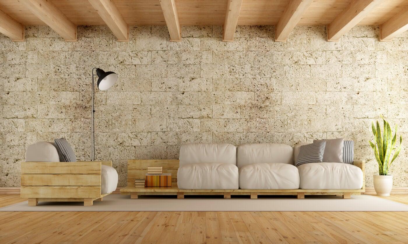 Mobiliario rústico moderno