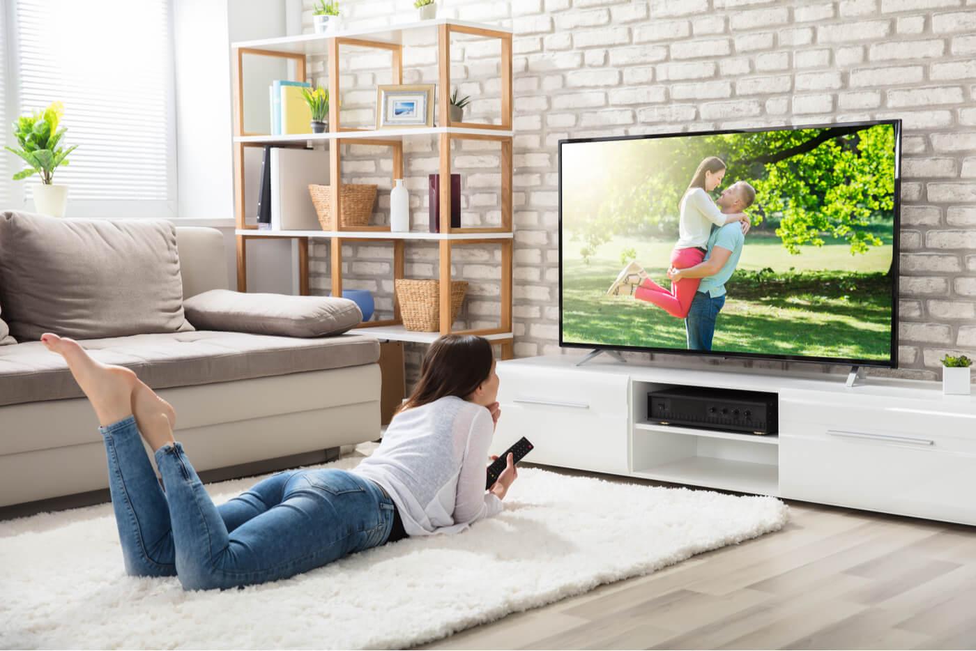 Televisor en el hogar