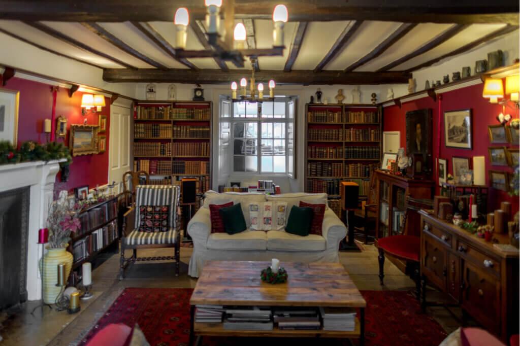 Decoración de las casas de campo inglesas