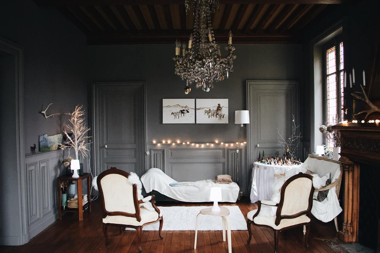 Ideas para decorar tu salón esta Navidad
