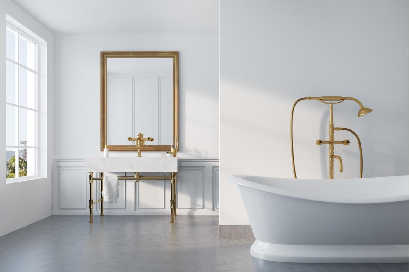 Tus baños amarán el dorado