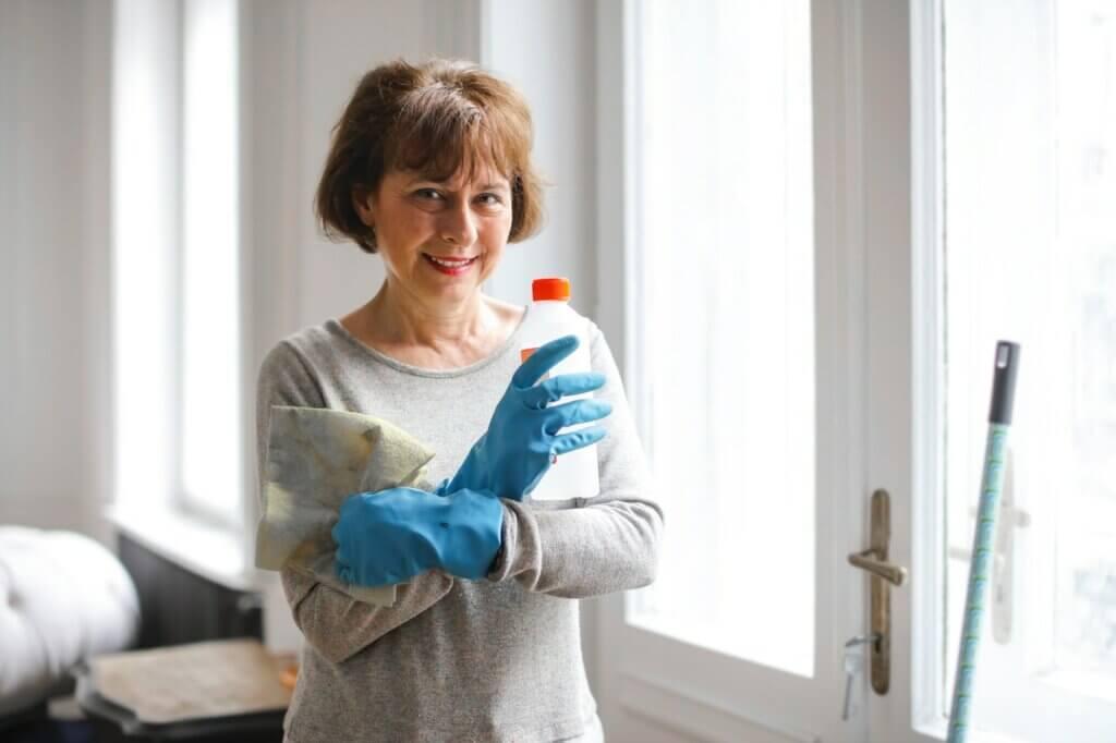 Rutina de limpieza para la gente ocupada