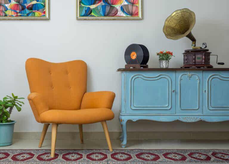 Los muebles retro más demandados en el mercado