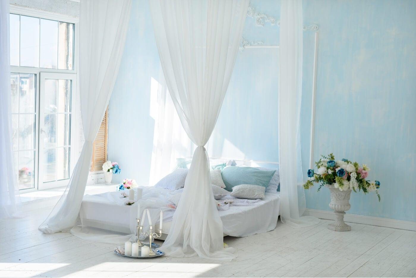 Guía para un dormitorio romántico