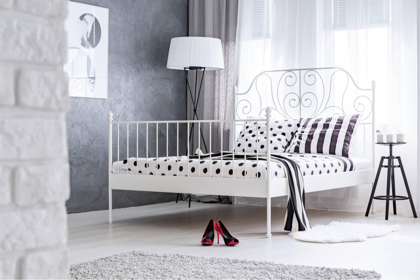 El encanto de las camas de latón