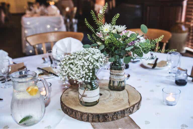 Centros de mesa de estilo vintage, una vuelta al pasado