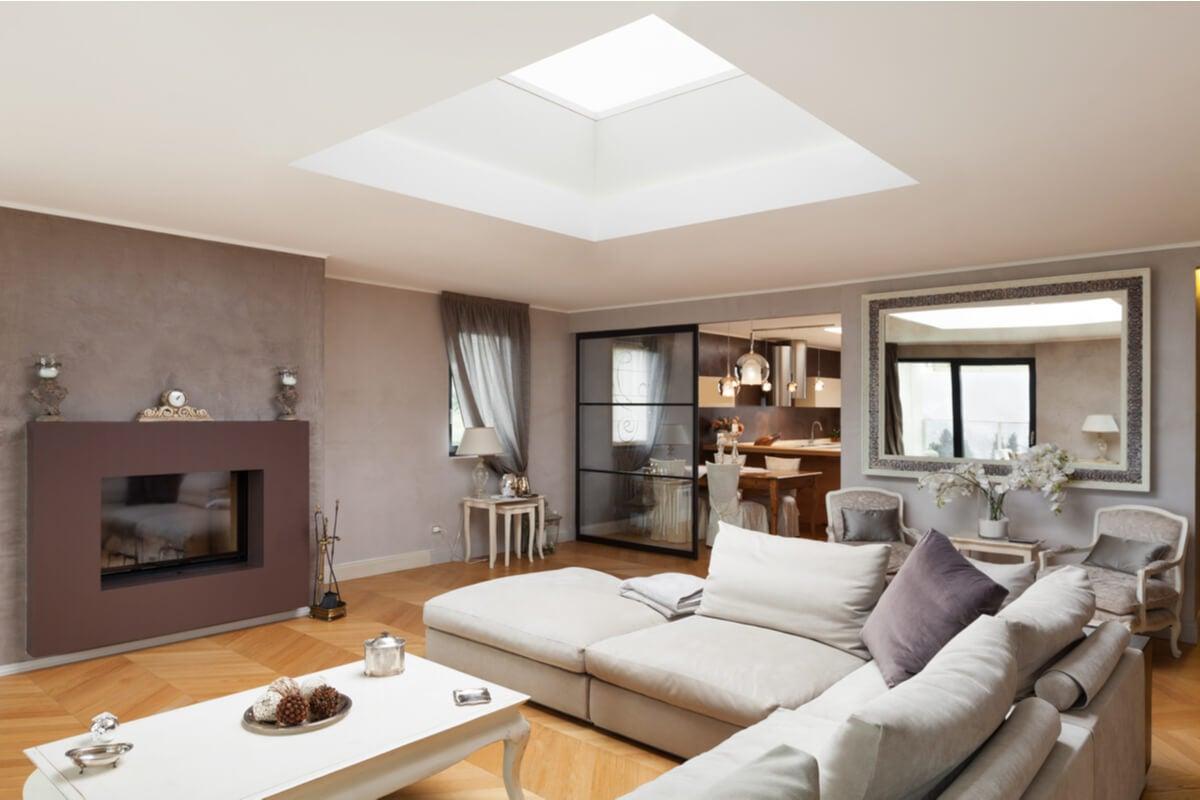 El efecto estético de las claraboyas en el hogar