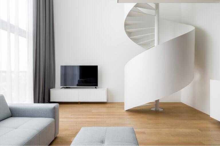 La espiral como símbolo decorativo para el hogar