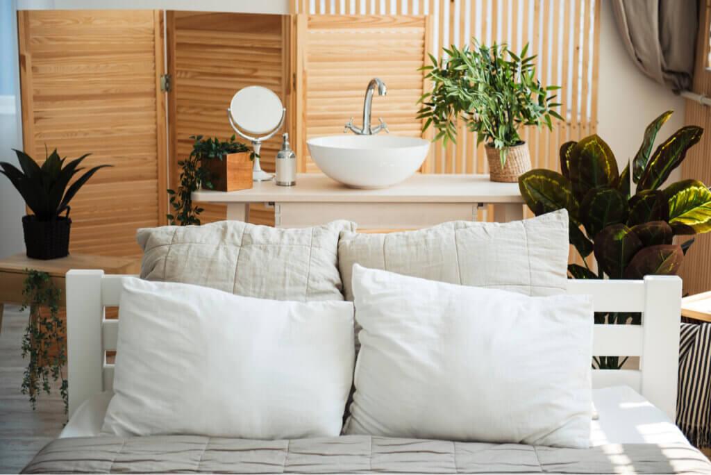 Mueble lavabo para el dormitorio