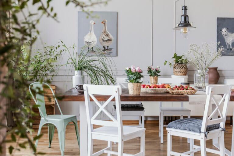 Principales recursos para ofrecer un ambiente naturalista en el hogar