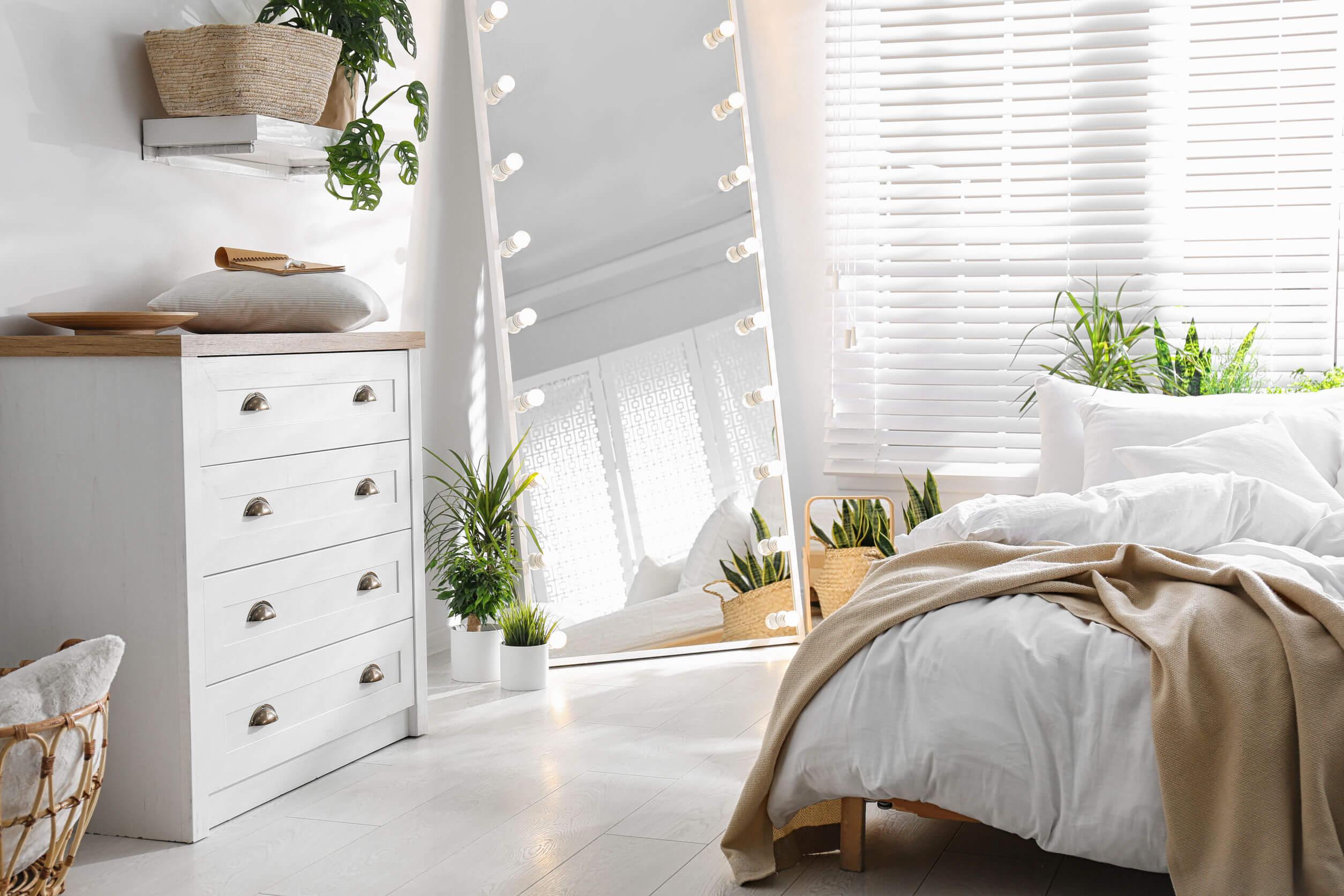 Soluciones de almacenaje para dormitorios pequeños
